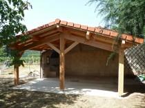Extension bois – jardin